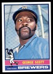 1976 Topps #15  George Scott  Front Thumbnail