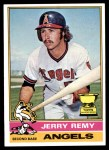 1976 Topps #229  Jerry Remy  Front Thumbnail