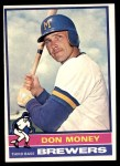 1976 Topps #402  Don Money  Front Thumbnail