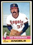 1976 Topps #27  Ed Figueroa  Front Thumbnail