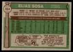 1976 Topps #364  Elias Sosa  Back Thumbnail