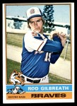 1976 Topps #306  Rod Gilbreath  Front Thumbnail