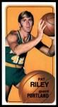 1970 Topps #13  Pat Riley   Front Thumbnail