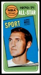 1970 Topps #107   -  Jerry West  All-Star Front Thumbnail