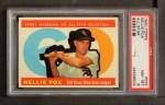 1960 Topps #555   -  Nellie Fox All-Star Front Thumbnail