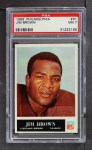 1965 Philadelphia #31  Jim Brown   Front Thumbnail
