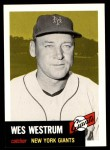 1953 Topps Archives #323  Wes Westrum  Front Thumbnail
