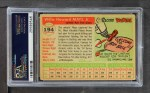 1955 Topps #194  Willie Mays  Back Thumbnail