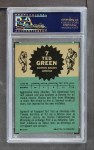 1962 Topps #7  Ted Green  Back Thumbnail