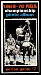 1970 Topps #174   -  Walt Frazier  1969-70 NBA Championship - Game 7 Front Thumbnail