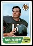 1968 Topps #101  Richie Petitbon  Front Thumbnail