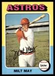 1975 Topps #279  Milt May  Front Thumbnail