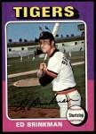 1975 Topps #439  Ed Brinkman  Front Thumbnail