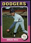 1975 Topps #269  Doug Rau  Front Thumbnail