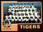 1975 Topps #18   -  Ralph Houk Tigers Team Checklist Front Thumbnail
