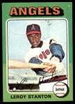 1975 Topps #342  Leroy Stanton  Front Thumbnail