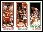 1980 Topps   -  Foots Walker / Mickey Johnson / Bill Robinzine 60 / 113 / 130 Front Thumbnail