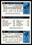 1980 Topps   -  Dudley Bradley / Eddie Jordan / Allan Bristow 116 / 155 / 239 Back Thumbnail