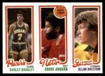 1980 Topps   -  Dudley Bradley / Eddie Jordan / Allan Bristow 116 / 155 / 239 Front Thumbnail