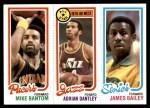 1980 Topps   -  Mike Bantom / Adrian Dantley / James Bailey 115 / 6 / 227 Front Thumbnail