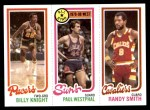 1980 Topps   -  Billy Knight / Paul Westphal / Randy Smith 120 / 16 / 59 Front Thumbnail
