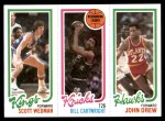 1980 Topps   -  Scott Wedman / Bill Cartwright / John Drew 131 / 164 / 23 Front Thumbnail