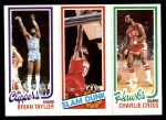 1980 Topps   -  Brian Taylor / Robert Reid / Charlie Criss 221 / 256 / 22 Front Thumbnail