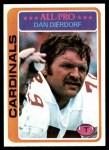 1978 Topps #310  Dan Dierdorf  Front Thumbnail