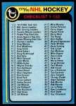 1979 Topps #131   Checklist 1-132 Front Thumbnail