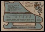1979 Topps #139  George Ferguson  Back Thumbnail