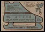 1979 Topps #157  Perry Miller  Back Thumbnail