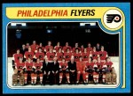 1979 Topps #255   Flyers Team Checklist Front Thumbnail
