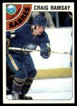 1978 Topps #9  Craig Ramsay  Front Thumbnail