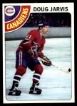 1978 Topps #13  Doug Jarvis  Front Thumbnail