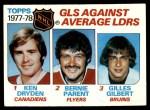 1978 Topps #68   -  Ken Dryden / Bernie Parent / Gilles Gilbert League Leaders Front Thumbnail