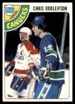 1978 Topps #183  Chris Oddleifson  Front Thumbnail