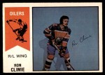 1974 O-Pee-Chee WHA #15  Ron Climie  Front Thumbnail