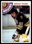 1978 Topps #79  Brad Park  Front Thumbnail