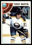 1978 Topps #118  Terry Martin  Front Thumbnail