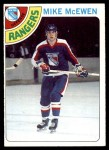 1978 Topps #187  Mike McEwen  Front Thumbnail