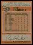 1978 Topps #188  Rene Robert  Back Thumbnail