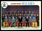 1978 Topps #196   Rockies Team Checklist Front Thumbnail