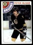 1978 Topps #212  Peter McNab  Front Thumbnail