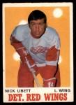 1970 O-Pee-Chee #158  Nick Libett  Front Thumbnail