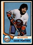 1974 O-Pee-Chee NHL #382  Dave Fortier  Front Thumbnail