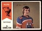 1974 O-Pee-Chee WHA #29  Al Hamilton  Front Thumbnail