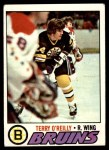 1977 Topps #220  Terry O'Reilly  Front Thumbnail