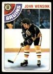 1978 Topps #133  John Wensink  Front Thumbnail