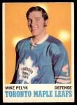 1970 O-Pee-Chee #107  Mike Pelyk  Front Thumbnail
