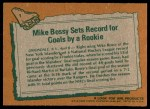 1978 Topps #1   -  Mike Bossy Highlights Back Thumbnail